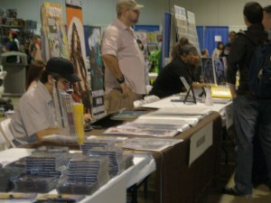 Artists Alley at a convention